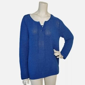 J McLaughlin Womens Sweater XL Ribbed Loose Knit